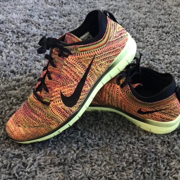 Nike Free TR 5.0 Multi-colored Flyknit